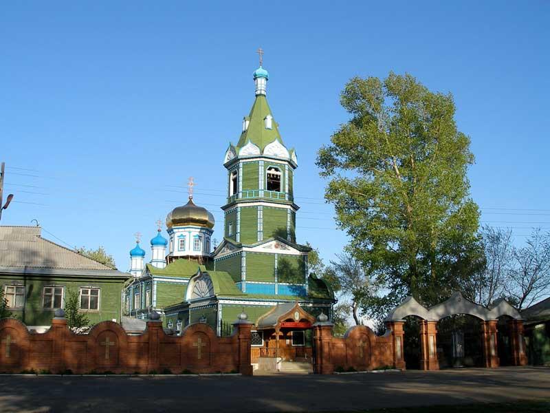 Храм города Рубцовска.